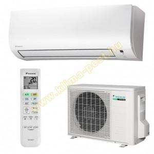 DAIKIN COMFORA FTXP35M / RXP35M  hűtő-fűtő hőszivattyús inverteres oldalfali klíma