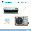 Daikin légcsatornázható FDXS25F + RXS25L3 inverteres  kíma